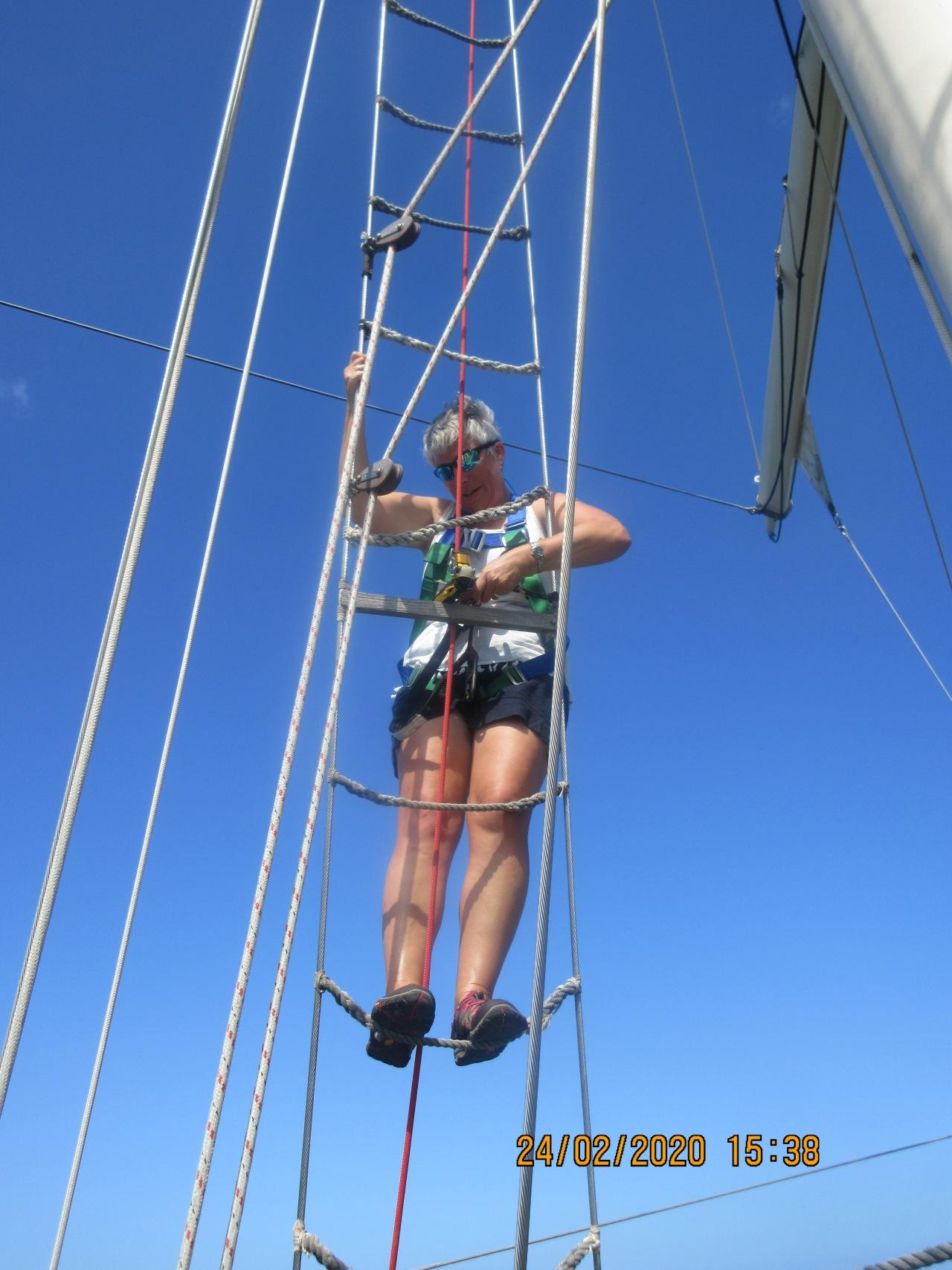 Mastering the climb